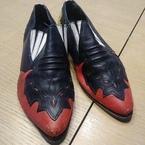 Vintage Leather Rockabilly Mootsie Tootsies Sz 8.5